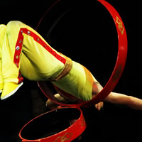 Chicago Act - Acrobat in Moscow, Idaho