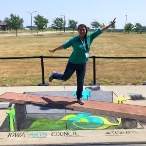 3D Chalk Art - Chalk Artist in Des Moines, Iowa