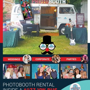 77 VW Bus PhotoBooth - Photo Booths in North Attleboro, Massachusetts