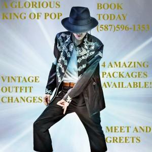 A Glorious King Of Pop Tribute - Michael Jackson Impersonator / Impersonator in Edmonton, Alberta