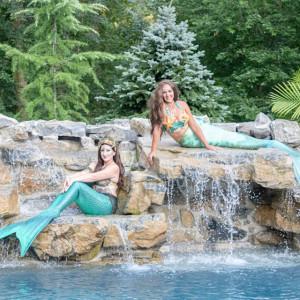 A Land and Sea Mermaid