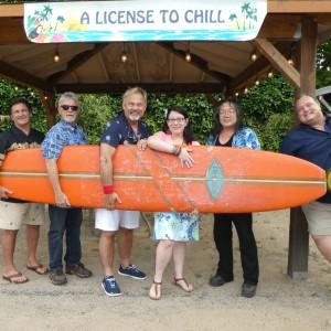 A license to chill  - Tribute Band in Petaluma, California