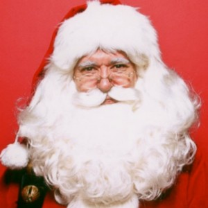 A New York City Santa - Santa Claus in New York City, New York