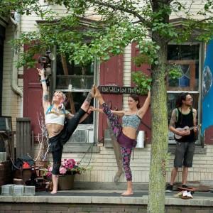 Acrobatic Yoga Dancers