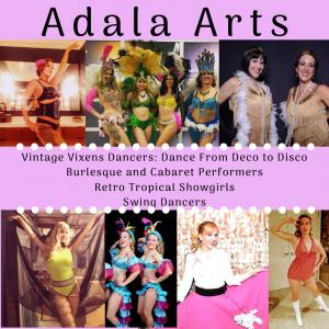 Adala Arts | Vintage Vixens - Jazz Dancer / Samba Dancer in Los Angeles, California