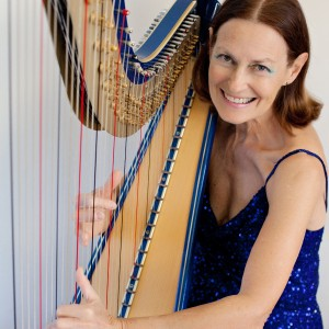 Adele Stinson, Harpist