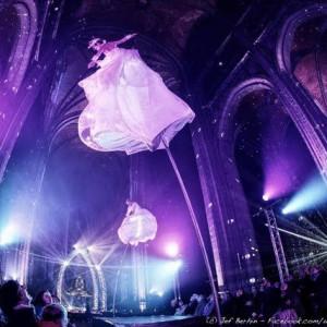 Aerial Act - Hoop, Tissu & Trio Cube - Circus Entertainment / Aerialist in Philadelphia, Pennsylvania
