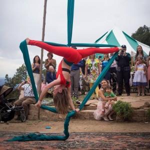 Aerial Fabrics - Aerialist / Circus Entertainment in Albuquerque, New Mexico