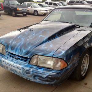 Air Efex custom paint