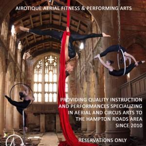 AIRotique aerial performance - Aerialist / Circus Entertainment in Virginia Beach, Virginia
