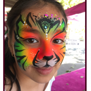 Bedazzled Face Painting & Body Art - Face Painter / Airbrush Artist in Santa Rosa, California