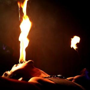 Alexander Spitfire - Fire Eater in Brooklyn, New York