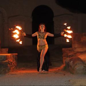 Alicia Ferrera - Fire Dancer in Gulf Shores, Alabama