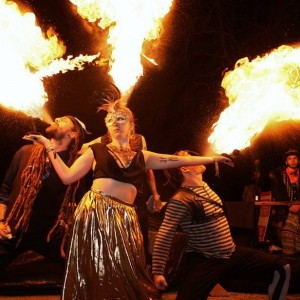 Alissa Bliss - Fire Performer / Fire Eater in Wilmington, North Carolina