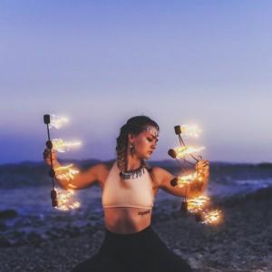 Amanda Morgan Flow Arts - Fire Dancer in Springfield, Missouri