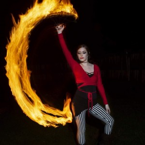 AmberLand Performance Art - Fire Dancer in Greensboro, North Carolina