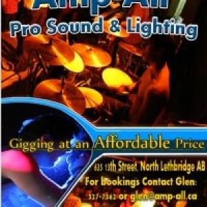 Amp All Audio - DJ / Karaoke DJ in Lethbridge, Alberta