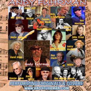 Andy Fuhrman - Singing Guitarist in Santa Cruz, California