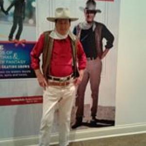 John Wayne Impersonator - Anecdotes about Duke's films & life stories - Impersonator in Branson, Missouri
