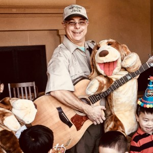 RANGER JACK's Music & Puppet Show - Children's Party Entertainment / Variety Entertainer in Orange County, California