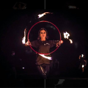 Annika Burns Circus Art - Fire Performer / Fire Eater in Austin, Texas