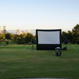 Anywhere Cinema - Outdoor Movie Screens / Mobile Game Activities in Tulsa, Oklahoma