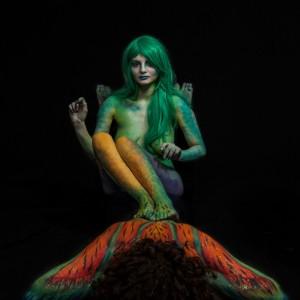 The Magic Pumpkin - Body Painter / Actress in North Charleston, South Carolina