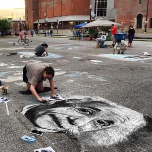 Art by Christie Snelson - Chalk Artist in Springfield, Missouri