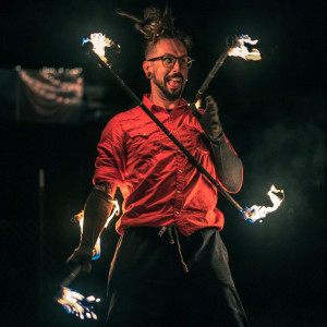 Art_The Juggler - Fire Eater / Circus Entertainment in East Rochester, New York