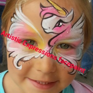 Artistic expressions face and body painting - Face Painter in Orlando, Florida