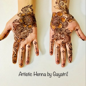 Artistic Henna by Gayatri - Henna Tattoo Artist in Apex, North Carolina
