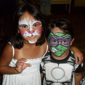 Arts on the Beach Face Painting - Face Painter in Panama City Beach, Florida