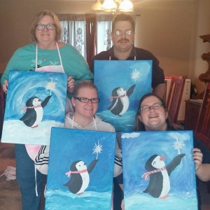 At Ease Expressions - Arts & Crafts Party in Omaha, Nebraska