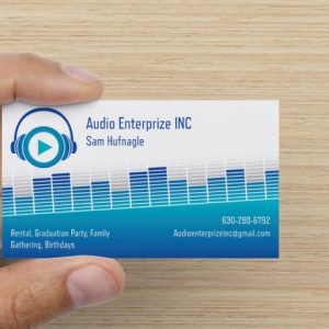 Audio Enterprize INC - Sound Technician in Glen Ellyn, Illinois