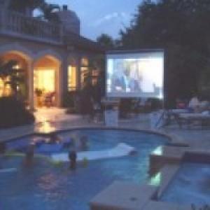 Backyard Projections - Outdoor Movie Screens in San Antonio, Texas
