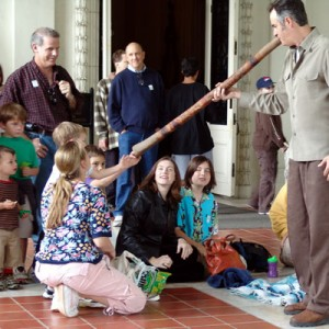 Barry Martin - Didgeridoo Player in Palm Springs, California