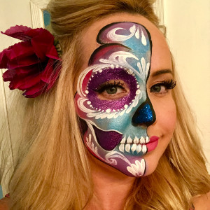 Behind the Scenes Face Painting - Face Painter in San Diego, California