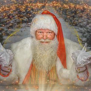 Bigger than Life REAL Beard Santa - Santa Claus in Denton, Texas