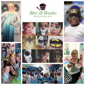 Bites & Brushes - Arts & Crafts Party in Augusta, Georgia
