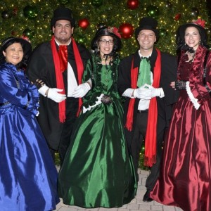 Victorian Voices of South Florida - Christmas Carolers in West Palm Beach, Florida