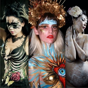 Bodypainting, face art, makeup by artist Evgola. - Body Painter in San Diego, California