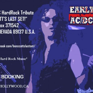 """Bon Scott's Last Set!"" - Tribute Band in Las Vegas, Nevada"