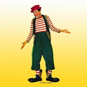 Bonzo Crunch: Fool at Large - Clown in Austin, Texas