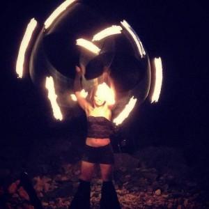 Britt Arsenist - Hoop Dancer in Vancouver, British Columbia