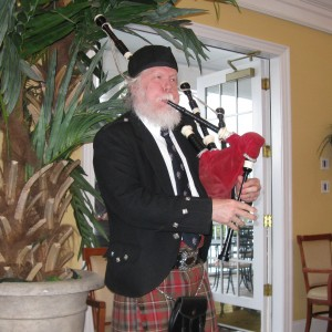 Bruce C. Wright - Bagpiper / Celtic Music in Durham, North Carolina