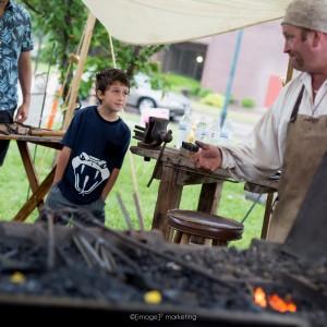 "Bryan Dale Headley - "" The Singin' Blacksmith "" - Educational Entertainment in West Salem, Illinois"