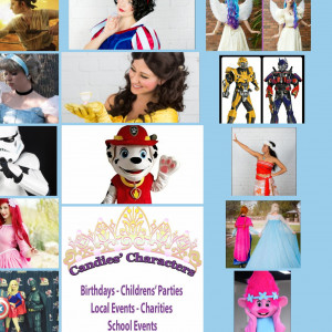 Candies Characters - Face Painter in Gilbert, Arizona