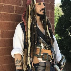 Cap'n Jack's Pirate Appearances - Johnny Depp Impersonator in Wilmington, North Carolina