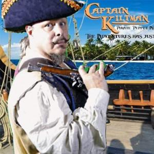 Captain Kiltman Pirate Puppet Adventure - Actor in Orlando, Florida
