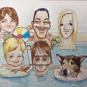 Caricatures by Richard - Caricaturist in Gallatin, Tennessee